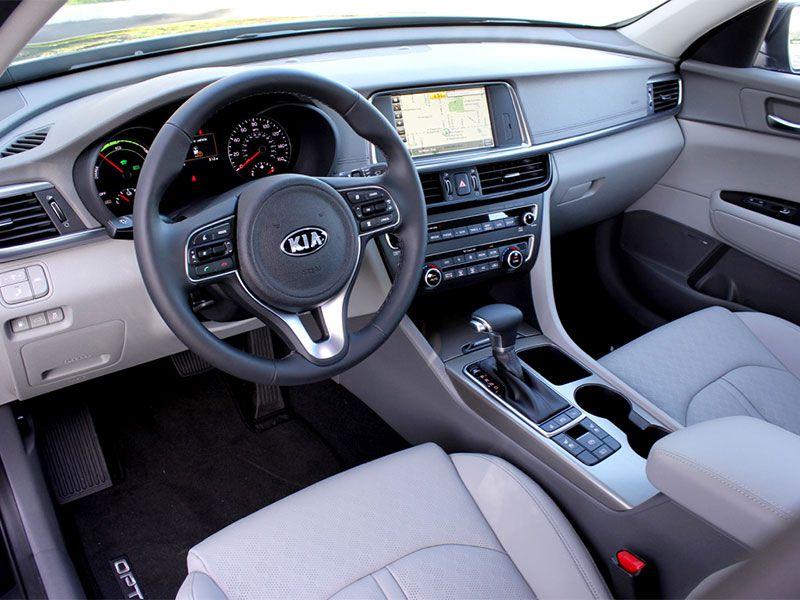 2017 Kia Optima Hybrid Interior Front Seat And Dashboard By Miles Branman